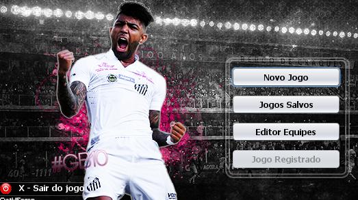Skin Gabriel Barbosa - Gabigol - Santos para Brasfoot 2018