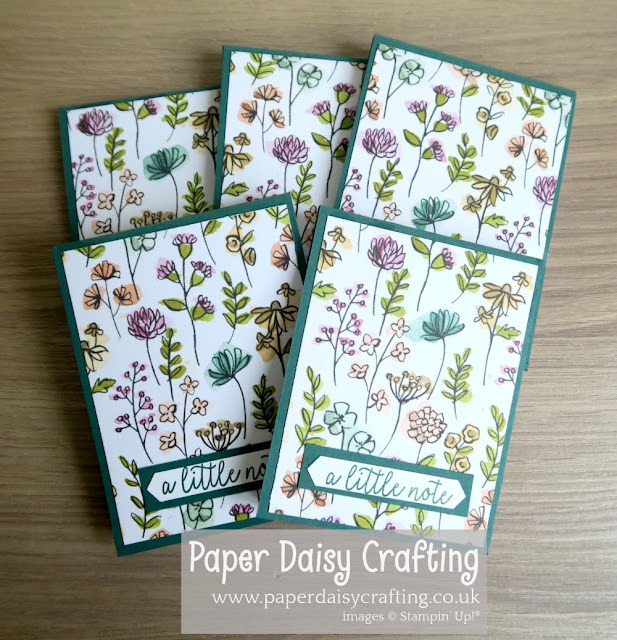 Share What You Love Stampin' Up note books