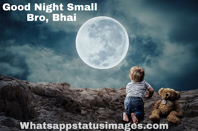 Good Night Small Bro,Bhai Pics