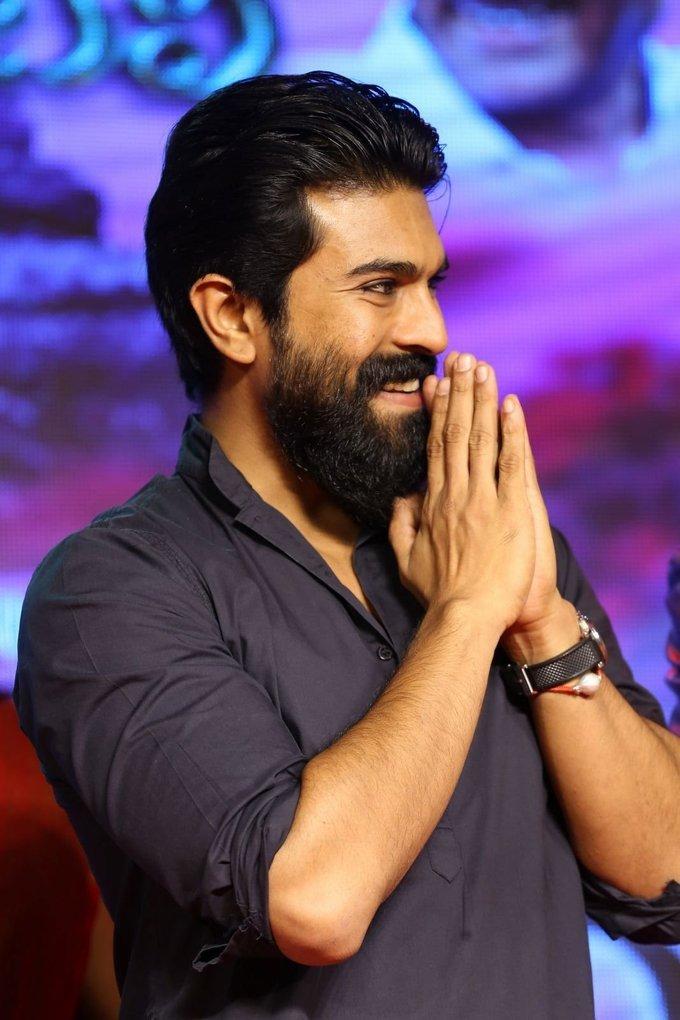 Ram Charan Teja graces Srivalli Telugu Movie Pre Release Event Pictures Gallery