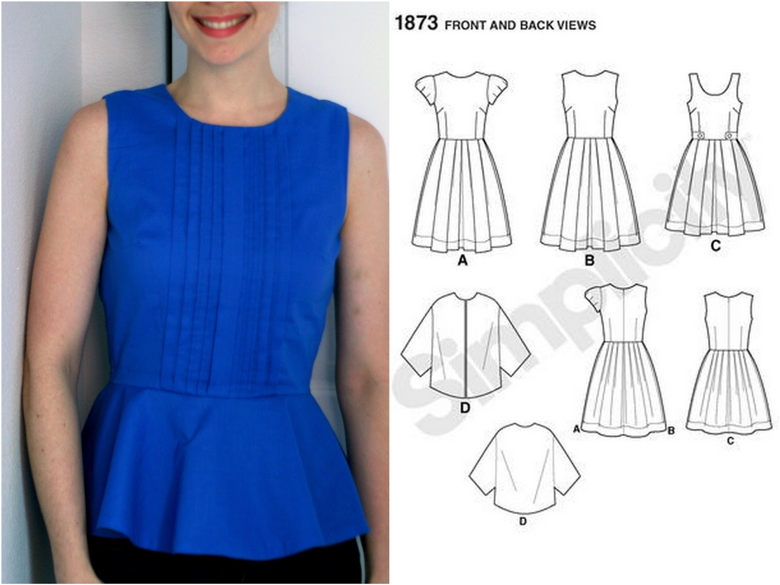 This One Actually Was A Dress First Then Top Made With Simplicity 2444
