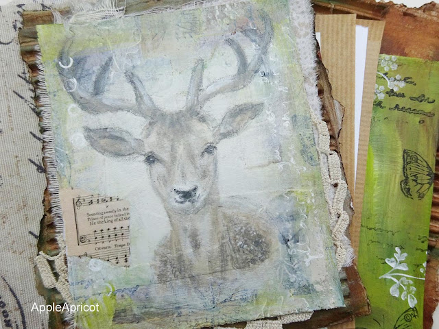 nature inspired mixed media by AppleApricot