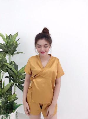 Đồ bộ ngủ Kimono giá rẻ