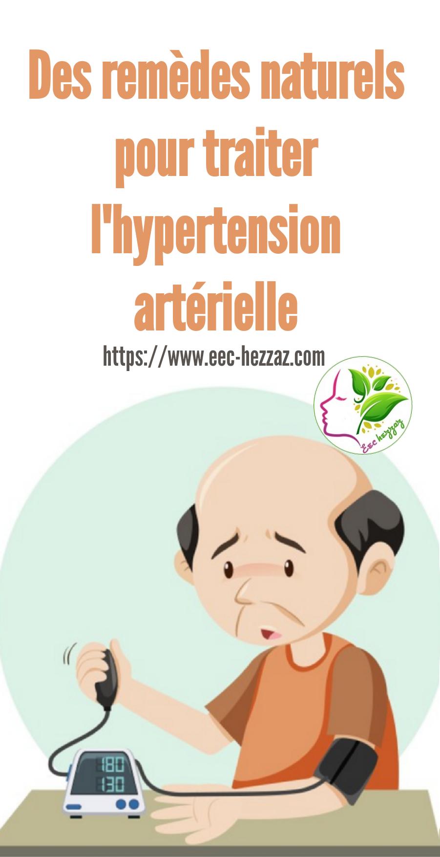 Des remèdes naturels pour traiter l'hypertension artérielle
