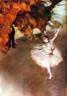 Degas painting from WPclipart.com