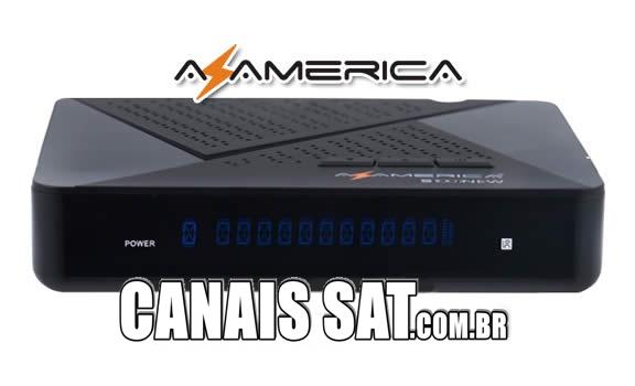 Azamerica S1007 New Nova Atualização V1.09.21166 - 10/01/2020