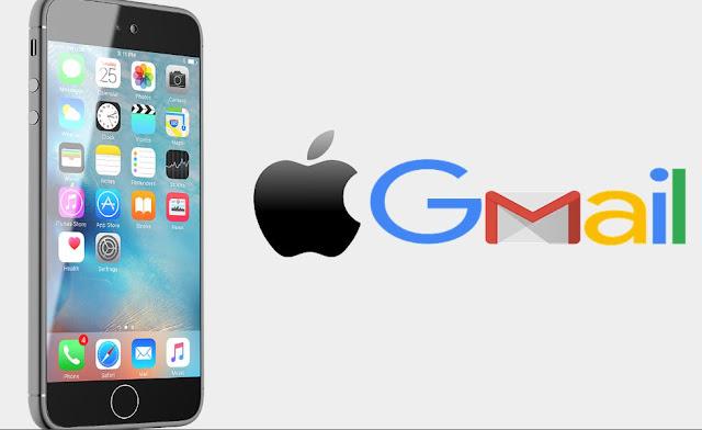 تسجيل دخول بريد إلكتروني gmail ايفون