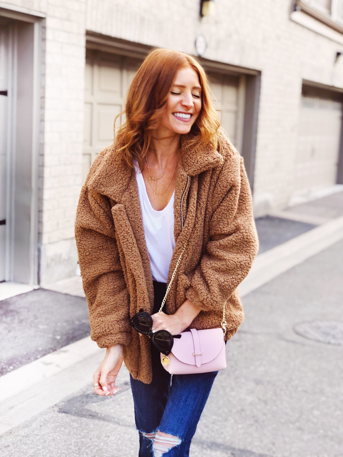 How to Style a Teddy Coat for Fall and other fall wardrobe staples
