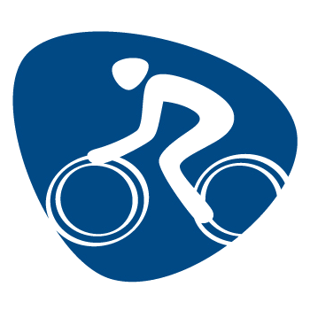 Pictogram Rio 2016 Cycling Road 350x350 px