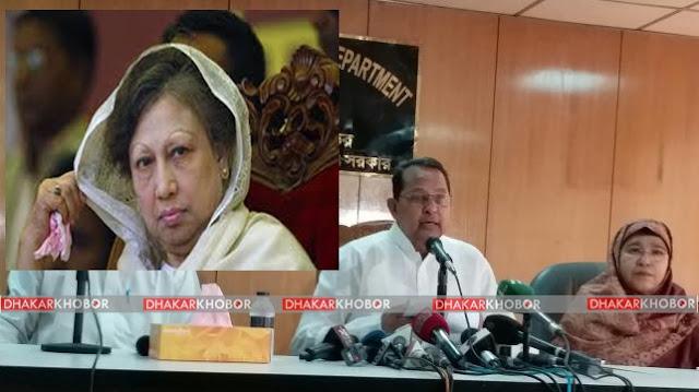 খালেদাকে রাজনীতির বাইরে রাখলেই জঙ্গি উৎপাত বন্ধ হবে: ইনু