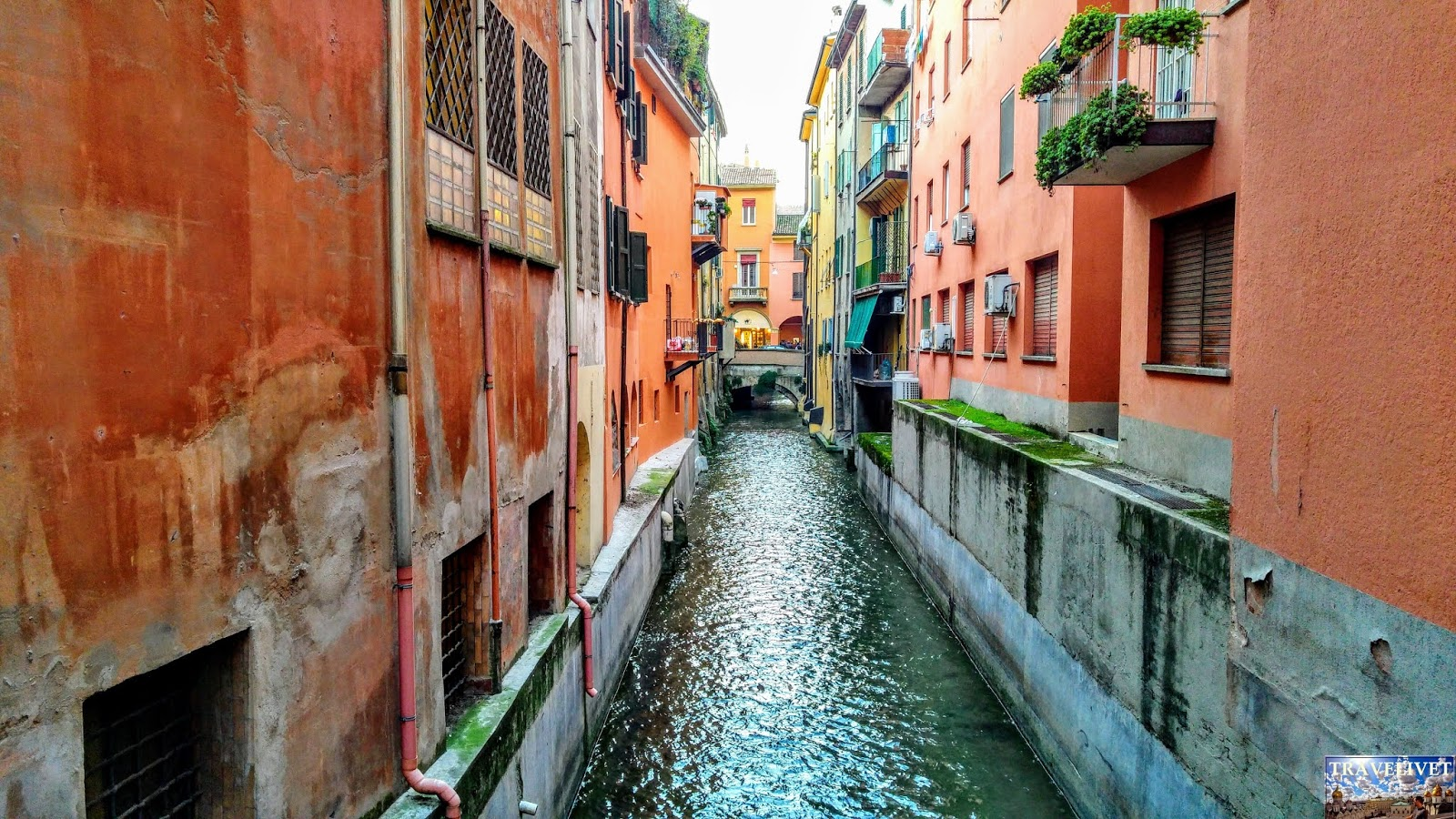 Italie Bologne Bologna canal