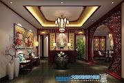 雑誌の様に見て欲しい伝統色濃厚な中国富裕層の住宅内装(上)