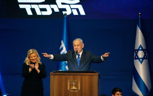 Rayakan Kemenangan Pemilu, Netanyahu Janji Caplok Lembah Yordania dan Tepi Barat