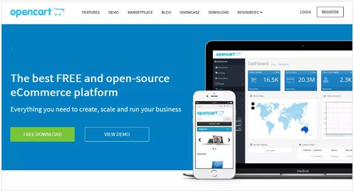 إدارة محتوى المتاجر الإلكترونية OpenCart
