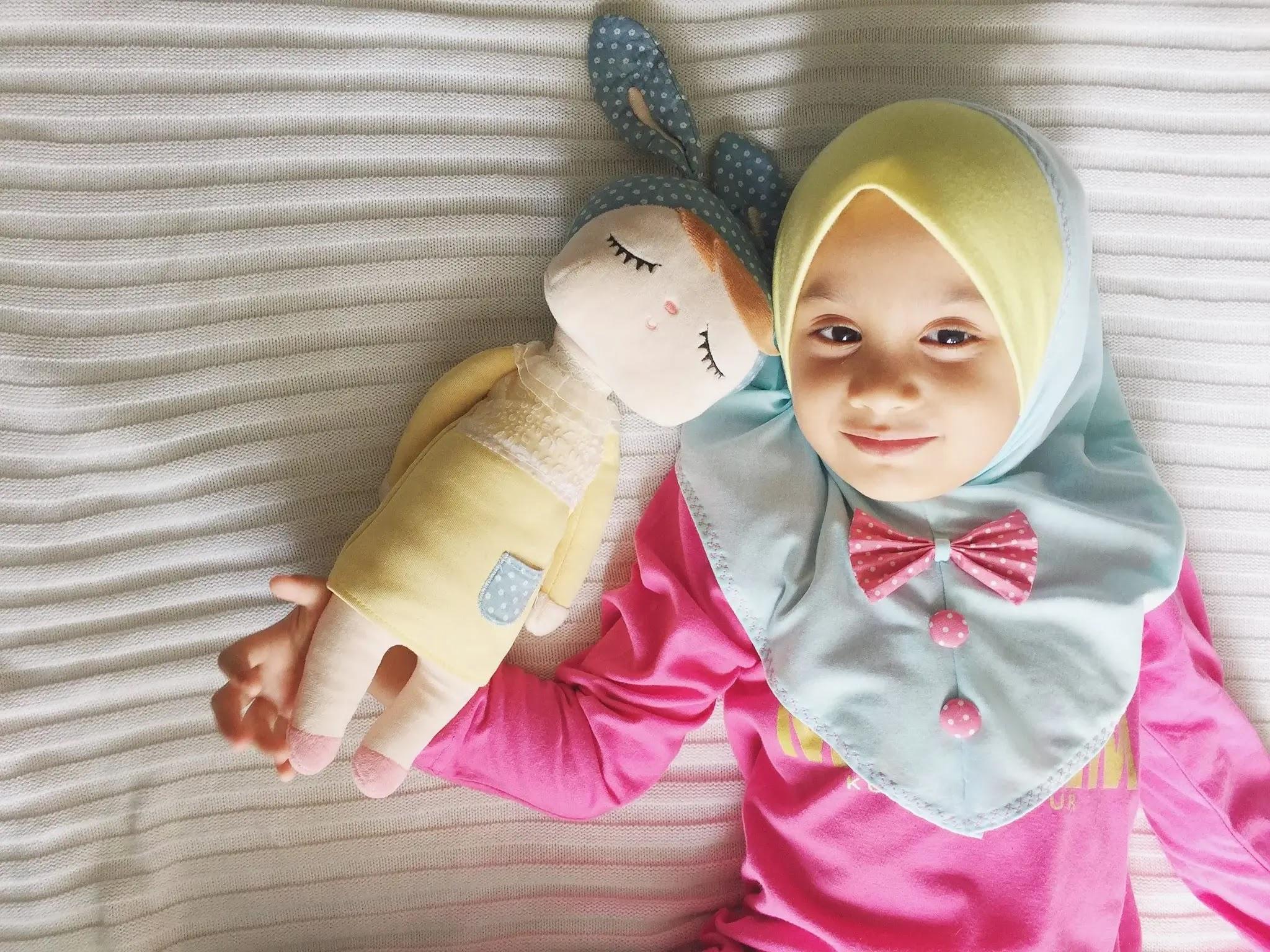 Fathiyah dreams tudung kanak kanak naelofar