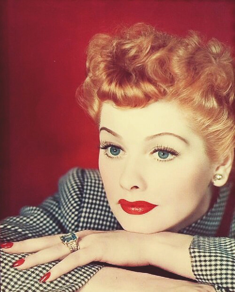 A Vintage Nerd, Classic Film Blog, Positive Quotes by Old Hollywood Stars, Inspirational Quotes from Old Hollywood, Old Hollywood Blog, Lucille Ball