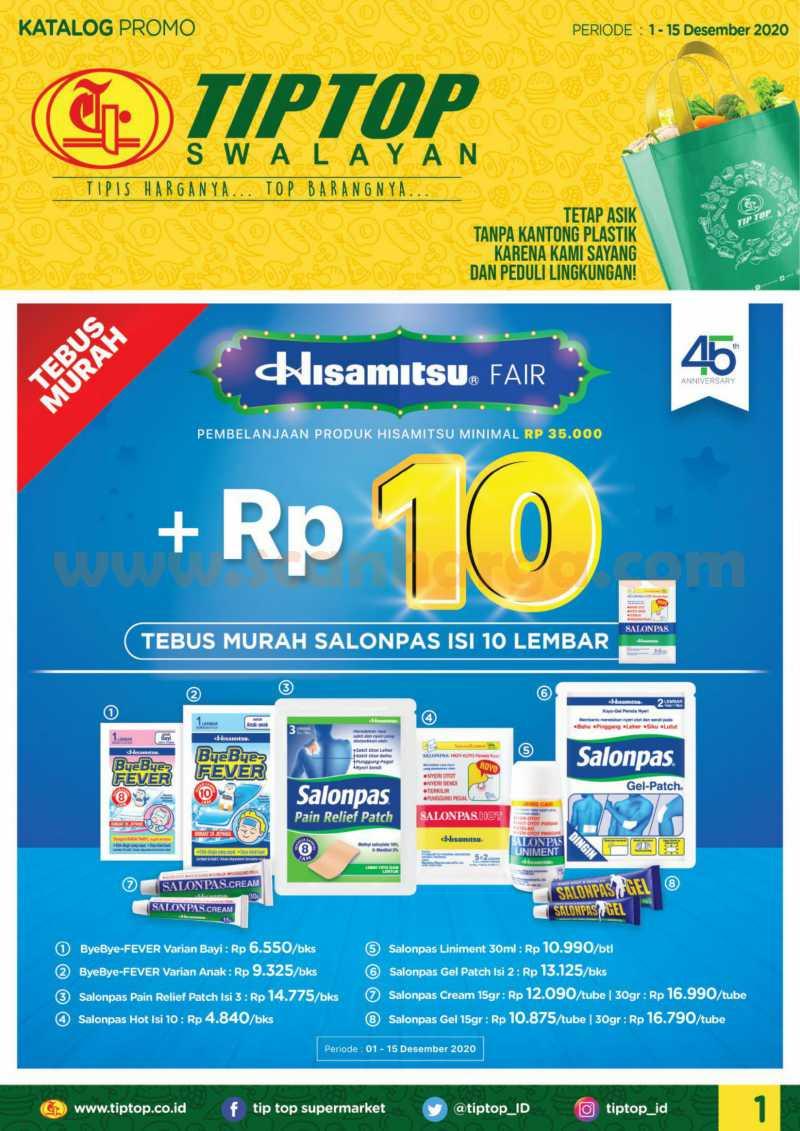 Katalog Promo Tip Top Pasar Swalayan 1 - 15 Desember 2020