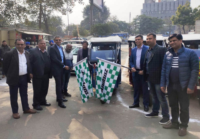 SAR Group launched E-Rickshaw in Ludhiana