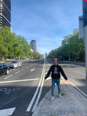 Pasear por Madrid cuando se acaba el confinamiento