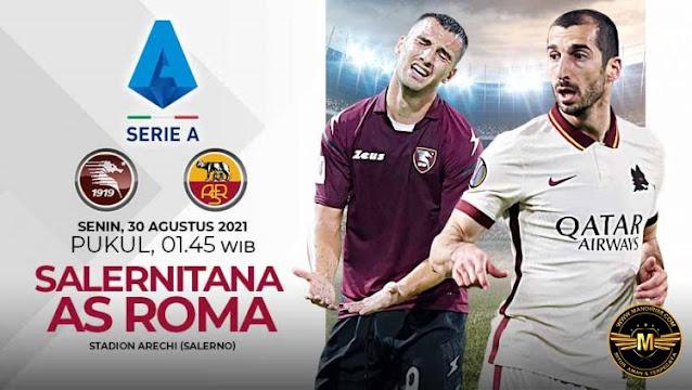 Prediksi Salernitana Vs AS Roma