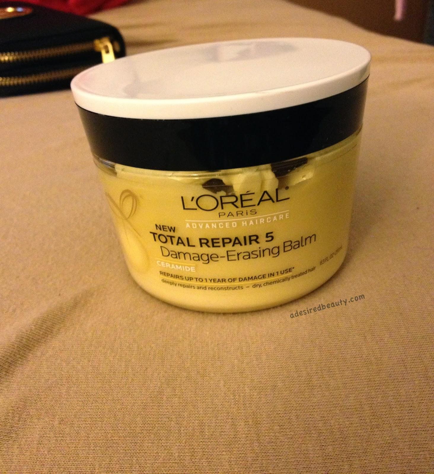 Product Review: L'Oreal Total Repair 5 Damage-Erasing Balm ...