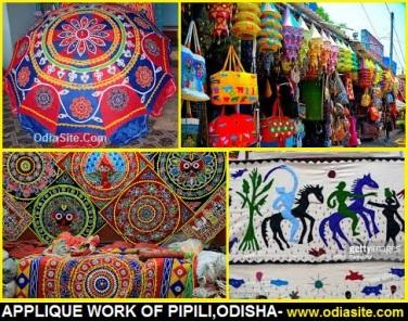 applique work of pipili chandua