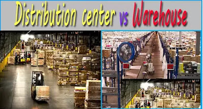 Distribution center vs Warehouse