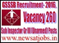 gsssb+recruitment