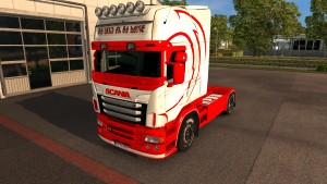 Old School Baby skin for Scania RJL