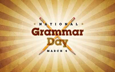 National Grammar Day Wishes Pics