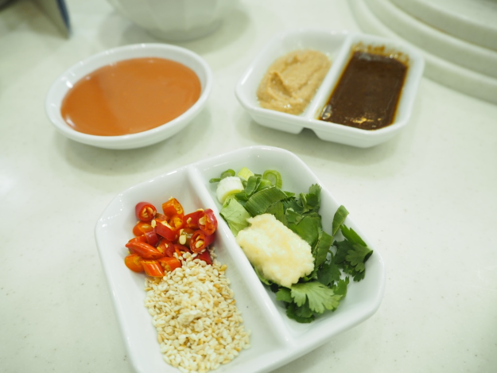 condiments to make chinese hotpot dipping sauce