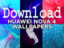 Download Wallpaper Stock Huawei Nova 4  1