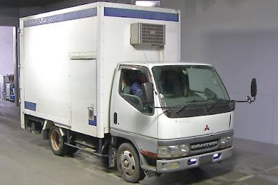 19520A1N9 2000 Mitsubishi Canter 2ton Refrigerated truck