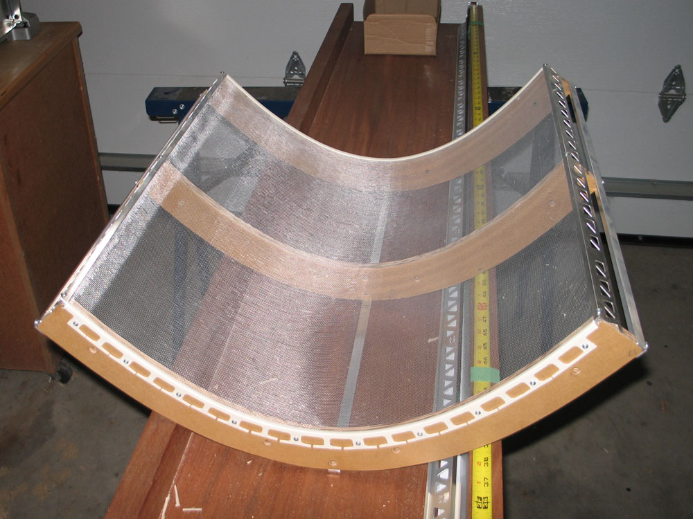 Georgesworkshop Gen2 Parabolic Solar Collector Progress