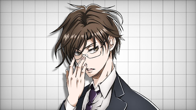 眼鏡(メガネ)男子のイラスト