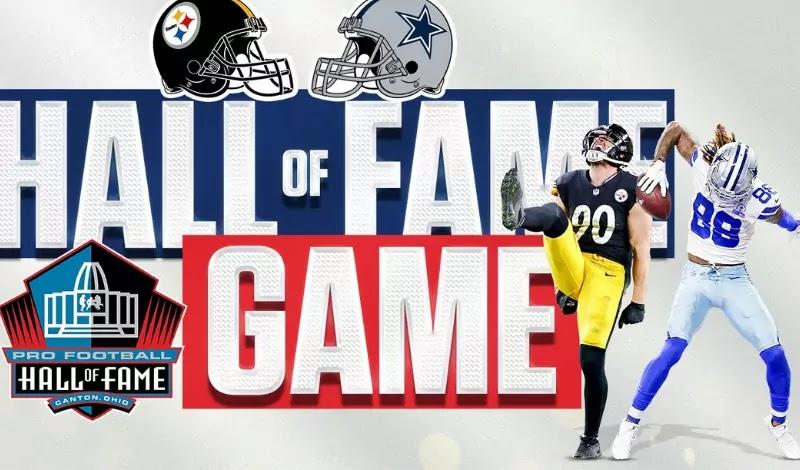 Hall of Fame game: football returns!