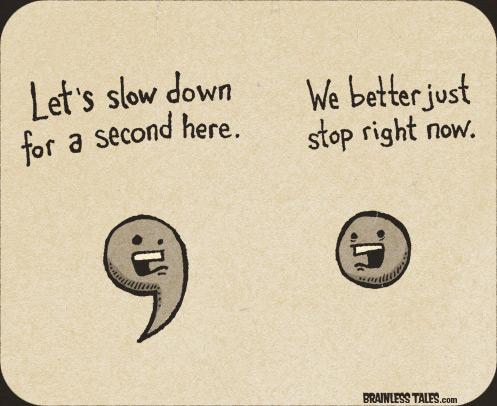 Funny Punctuation Quotes. QuotesGram
