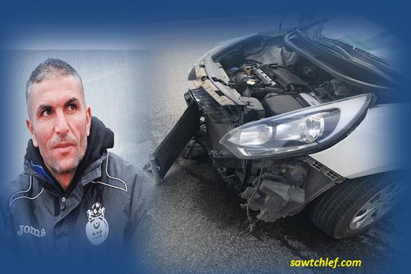 سمير زاوي يتعرض لحادث مرور
