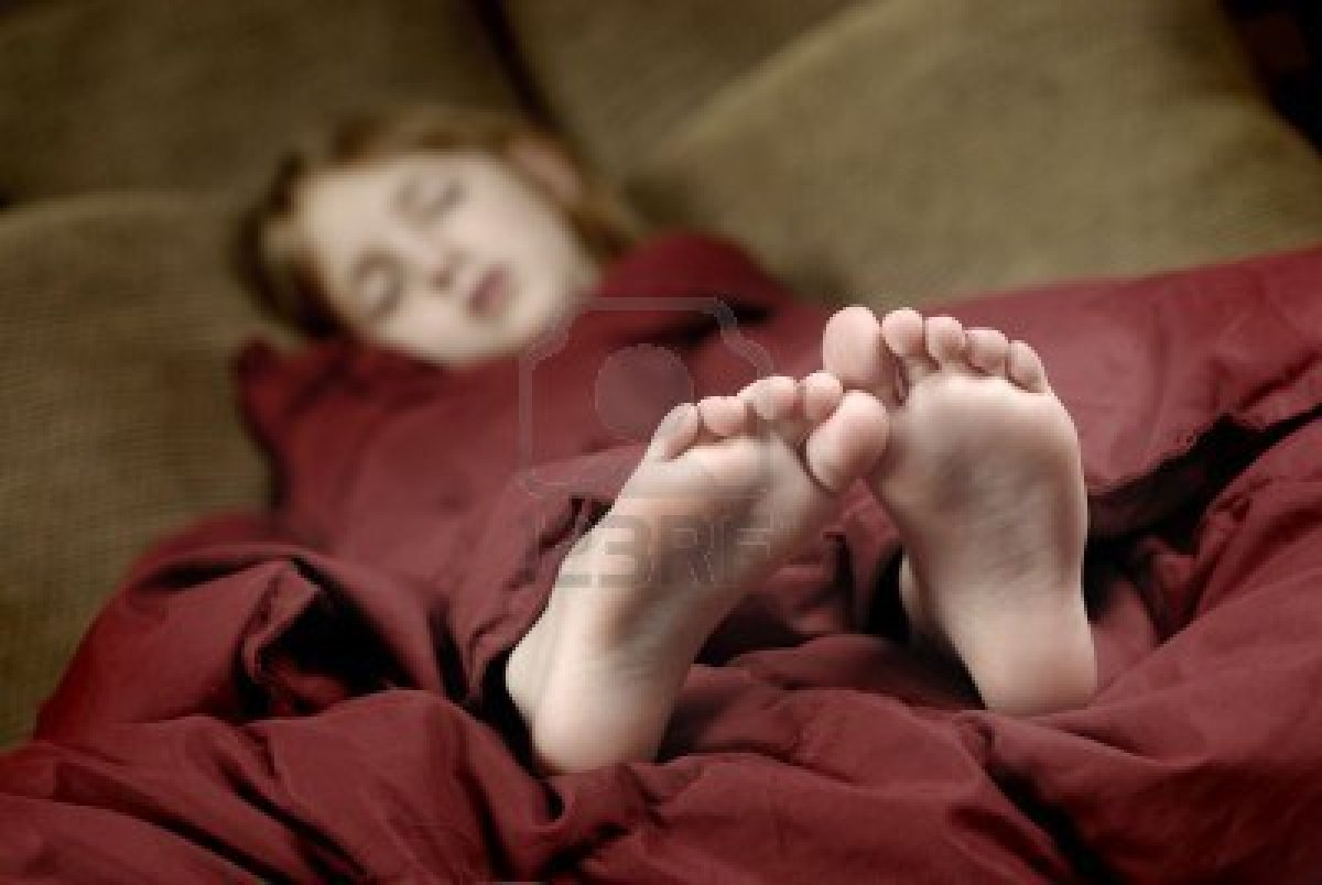 For Sleeping Teen Feet 89