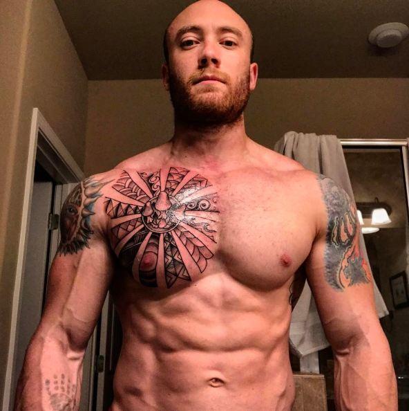 592b56b5d Top 51 Best Chest Tattoos For Men (2018) | Tattoo Ideas