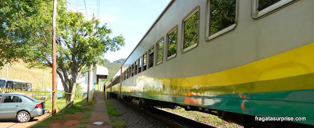 Estação Ferroviária Dois Irmãos, em Barão de Cocais