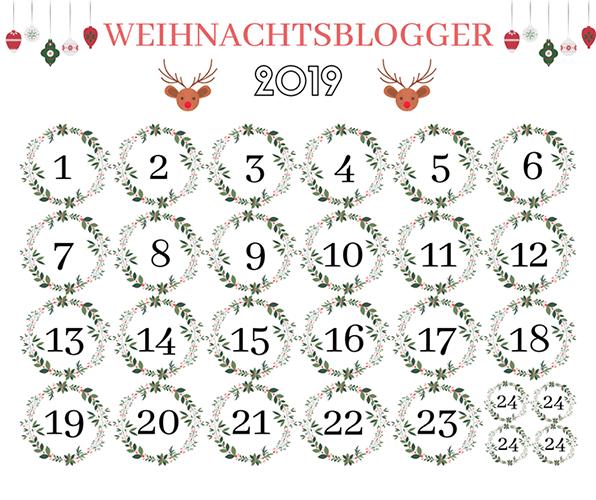 Adventskalender der Weihnachtsblogger 2019 [Werbung] 1