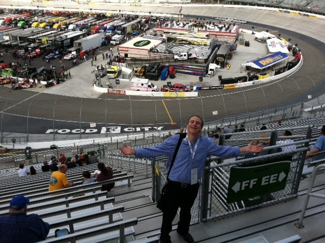 The wing d elephant robert edelstein at bristol motor for Charlotte motor speedway museum