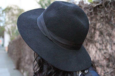 Express Black Felt Hat