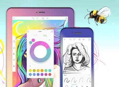 تحميل برنامج الرسم  PicsArt Color Paint للأندرويد مدفوع مهكر آخر إصدار