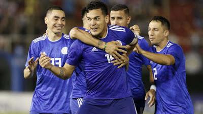 Paraguay vs Guatemala 2-0 amistoso