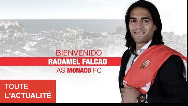 Fichaje de Radamel Falcao: El Mónaco le da la Bienvenida al Tigre