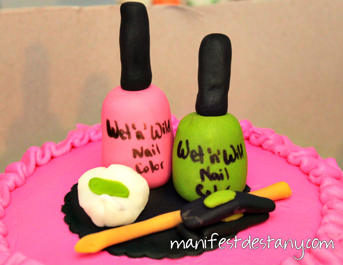 Nail Polish Birthday Cake Pans
