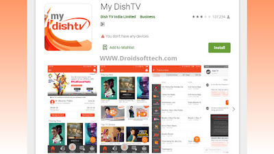Download My Dish TV app