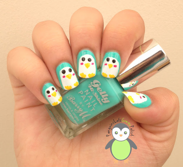 favorite polish penguinsleftgreenpolish
